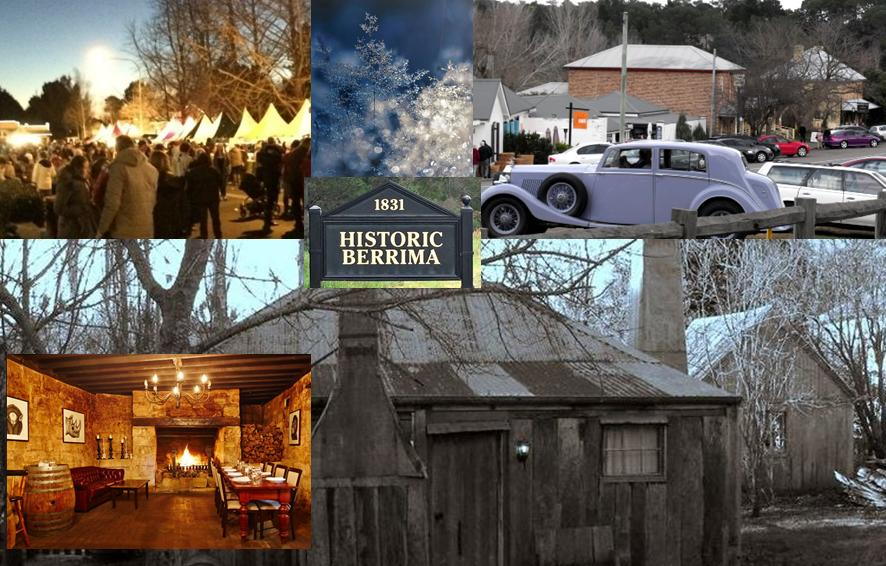 We tour to Country Events:  NEXT IS 'The Highlands Winterfest' in The Southern Highlands
