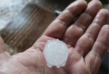Katoomba's Golf Ball Hail Storm
