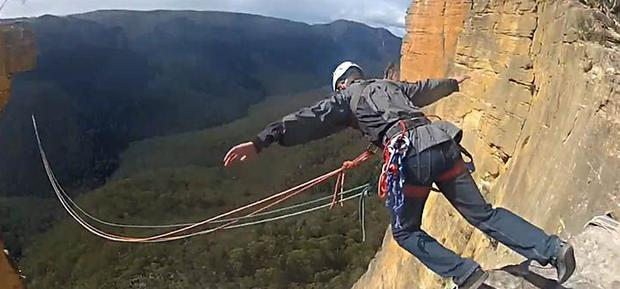 BASE jumping in the Blue Mountains ought attract a mental health assessment